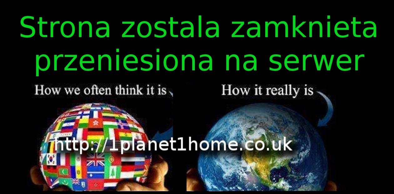 Strona przeniesiona na http://1planet1home.co.uk